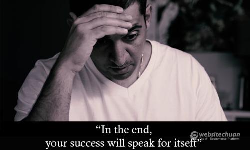 Hãy để thành công của bạn lên tiếng thay cho tất cả!