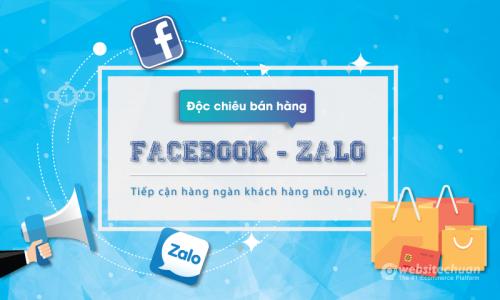 Độc chiêu Bán hàng qua Facebook Zalo siêu hiệu quả