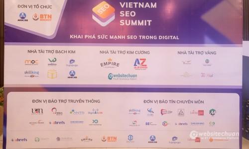 VIETNAM SEO SUMMIT 2018 – HỖ TRỢ DOANH NGHIỆP THỜI ĐẠI SỐ