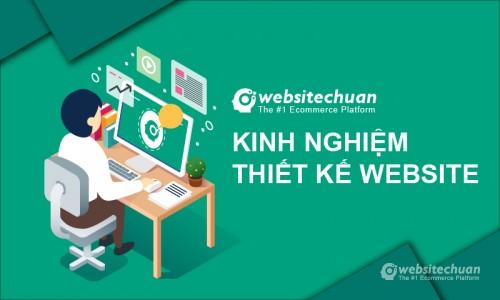 Chia sẻ kinh nghiệm thiết kế Website chuyên nghiệp