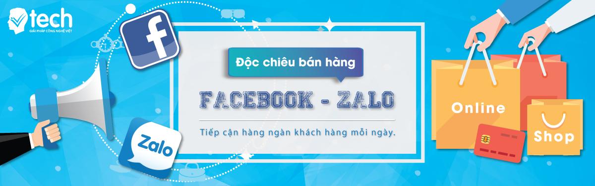 chiến lược bán hàng qua facebook và zalo